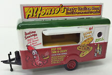 Oxford Diecast HO #87TR012 - Food Trailer - Alphonso's Italian -  w/case - NEW