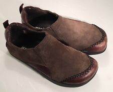 Earth Kalso Techology Allure Caribou Brown Suede Shoes in Womens 6 B - NICE!