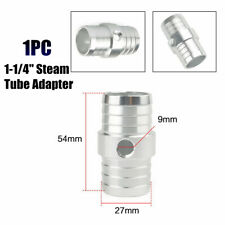 "Hose Barb Coupler w/1/8"" NPT Port 1-1/4"" Steam Tube Adapter for LS Swap Steam"