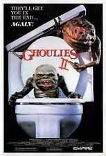 Ghoulies 2 Poster 01 Letrero De Metal A4 12x8 Aluminio