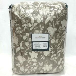 King Natural Floral Family Friendly Comforter by Threshold