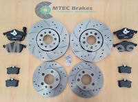 Golf mk4 GT TDi 130 Drilled Brake Discs Front Rear Pads