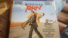 Midnight Run Laserdisc - Robert De Niro- VERY GOOD