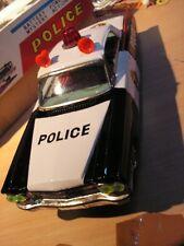 ICHIKO TIN TOY US POLICE P.D. CADILLAC JOUET TOLE 60/70 tin toy
