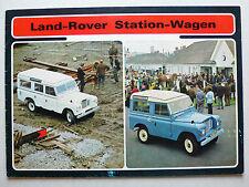 Prospekt Landrover Serie III 88'' / 110'' Station-Wagen, ca.1973, 18 Seiten
