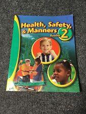 ABEKA 2nd GRADE HEALTH SAFETY & MANNERS READER
