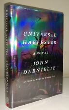 Universal Harvester by John Darnielle SIGNED 1st edition 2017 The Mountain Goats