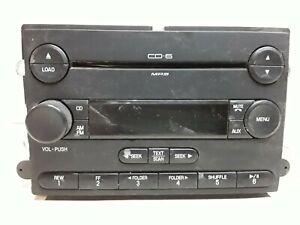 07 2007 Ford Expedition AM FM 6 disc CD radio receiver OEM 7L1T-18C815-EF EB-EF