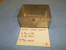 "1935-1938 Mills Phonograph or jukebox Cash Box (A) ~ 6.5"" x 3""  00004000 x 4.75"" - tin"