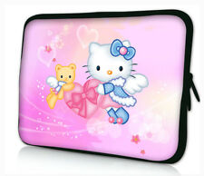 """17-17,3"""" LAPTOP SLEEVE CARRY CASE BAG 4 ALL LAPTOPS, FREE POST *Hello Kitty*"""