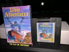 Bible Adventures - NES Nintendo Video Game - Cart and Box