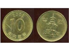 COREE DU SUD  10 won  2002
