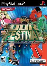 Used PS2 DDR Festival Dance Dance Revolution Japan Import