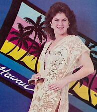Pretty Filet Beach Cover/Apparel/ Crochet Pattern Instructions Only