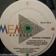 "BONNIE FOREMAN - Christmas Medley ~ 12"" Single US PRESS"