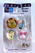 Pooh Winnie Drawer Knobs Handles Decorative DIY Cute Baby Room Home Decor