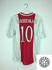 Ajax Van der kvalitetno #10 04/05 Hogar Camiseta de fútbol (M) fútbol Jersey Adidas