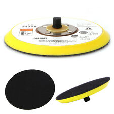 "5"" 125MM Polishing Sander Backer Plate Napping Hook Loop Sanding Disc Pad New"