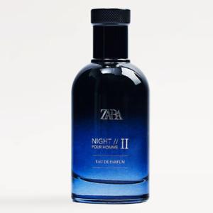 ZARA NIGHT POUR HOMME II 2 EDP ORIGINAL Parfum Fragrance Amber 100ml 3.4fl.oz