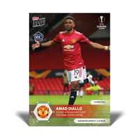 Amad Diallo RC - Manchester United - 3/11/21 - UEFA Europa EL Topps Now Card #1