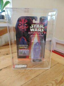 Star Wars Episode 1 Darth Sidious Hologram Carded AFA not CAS UKG