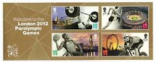 GB QEII MNH MINIATURE SHEET WELCOME TO PARALYMPIC GAMES LONDON 2012 SG MS3371
