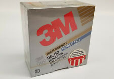 "3M 10 Pack DS DD 3.5"" Microdisks 1.44 MB Formatted Floppy Disk"