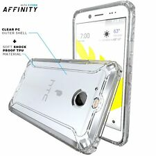 POETIC Affinity Series [Soft Shock proof ] Bumper Case for HTC Bolt (2016) Clear
