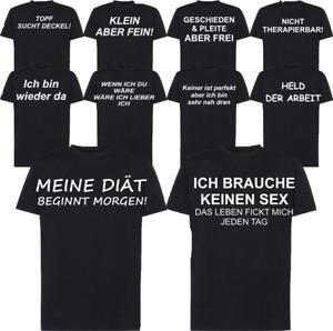 T-Shirt geschieden lustig Sprüche Funshirts Geschenk Arbeit  Geburtstag Diät Sex