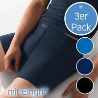 Herren Short 3er Pack Feinripp von ESGE 535/6/9-320-E Gr. 5-9 Schw o. Blau