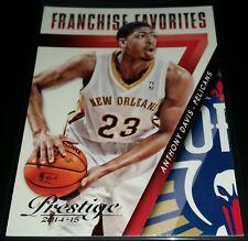 Anthony Davis 2014-15 Panini Prestige FRANCHISE FAVORITES Insert Card