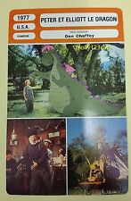 US Disney Animated Musical Pete's Dragon Helen Reddy French Film Trade Card