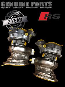 New Audi RS5 F5 RS4 8W B9 2.9 TFSI Bi Turbo Charger 06M145701N 06M145702N 1 pair