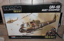"Monogram 1:24 UH-1B Huey Chopper from the CBS TV Show  ""TOUR OF DUTY"""
