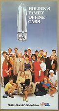 1985 Holden Range original sales brochure