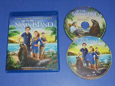 Return to Nim's Island (Blu-Ray / DVD set) movie RATED PG Bindi Irwin kids film