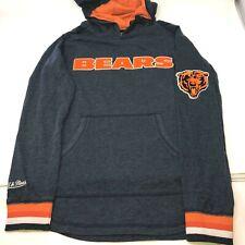 Mitchell and Ness Chicago Bears NFL Football Gray Hoodie Boys Sweatshirt Medium