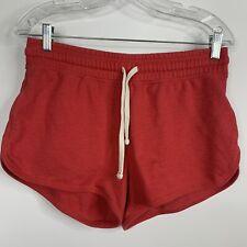 Gap Womens Small Shorts Red Tie Elastic Waist Casual R
