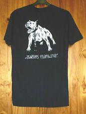 Swallows & Daggers Size L Cotton T-Shirt Black