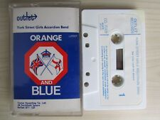 YORK ST. GIRLS ACCORDION BAND ORANGE AND BLUE CASSETTE TAPE, 1969 OUTLET TESTED