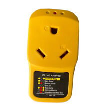 Rv Surge Protector 30 Amp Adapter Circuit Analyzer with Led indicator light