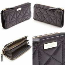 NWT KATE SPADE WHITAKER PLACE NISHA QUILTED LEATHER ZIP AROUND WALLET WLRU2238-2