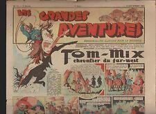 LES GRANDES AVENTURES. 1941 n°51. Calvo, Brantonne, Erik