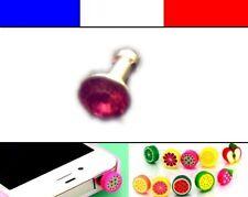 Cache anti-poussière jack universel iphone protection capuchon bouchon Diamant 5