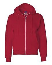 Champion Mens Size S-L XL 2XL 3XL XXL XXXL Full Zip-Up Hooded Hoodie Sweatshirt