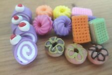 4 Dollhouse Miniatures Food & Grocery Home Supply Handcrafted Assorted Bakery 8