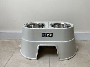 'Our Pets' Rised Dog Bowl Stand
