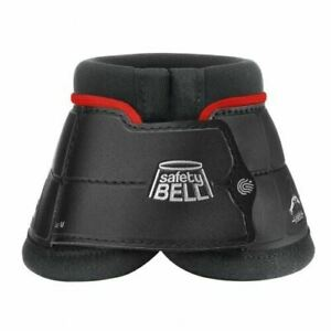 Veredus Colors Safety Bell Boot - Black/Red