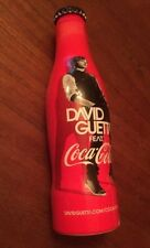 Bouteille de Coca Cola Alu Collector  David GUETTA  25cl  Collection 2012 Neuve