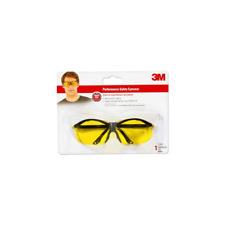 3M™ Sports-Inspired Safety Eyewear, 90966-WV12, Semi-Rimless Design, Yellow Lens